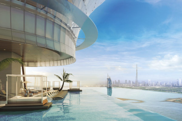 The-Palm-Tower-infinity-pool-Dreams-of-Luxury